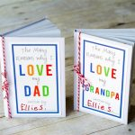 The Many Reasons I Love You Book Only $8.99! GREAT Father's Day Gift!