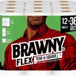 Brawny Paper Towels on Sale + $2 off Coupon! Pay as low as $0.59/Regular Roll!