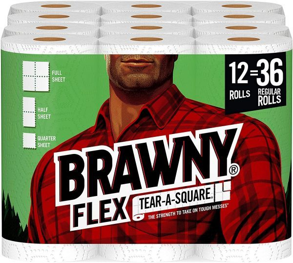 Brawny Paper Towels on Sale
