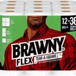 Brawny Paper Towels on Sale + 20% off Coupon! Pay as low as $0.52/Regular Roll!