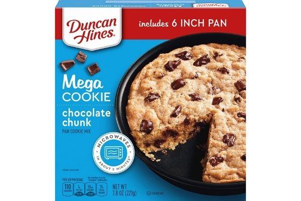 Duncan Hines Pan Cookie Mix