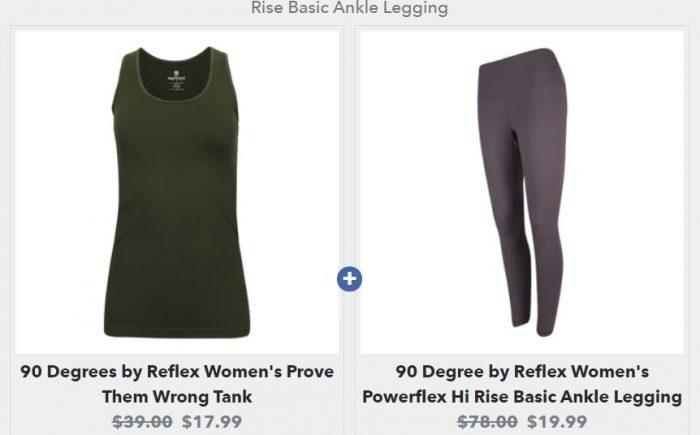 Women's Leggings & Tank Sets on Sale