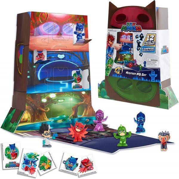 PJ Masks Night Time Micros Mystery HQ Box Set