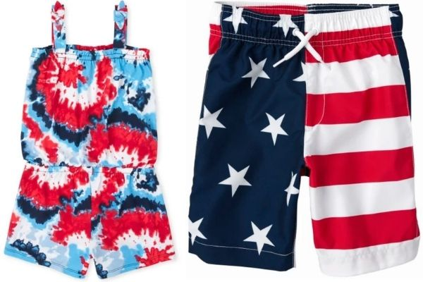 Kids Patriotic Clothing on sale