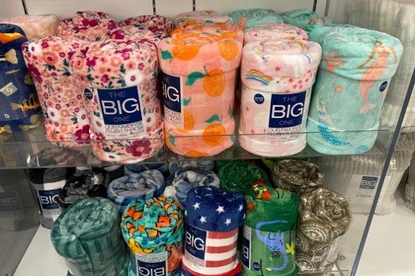 The Big One Super Soft Plush Throw Blankets
