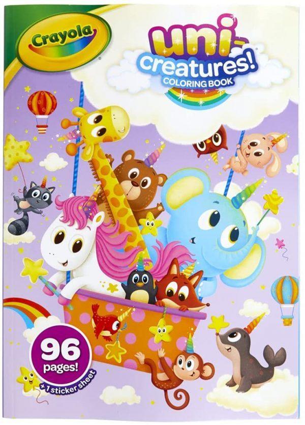 Uni-Creatures Coloring Book