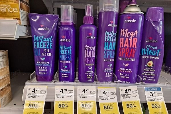 Aussie Hair Products on Sale