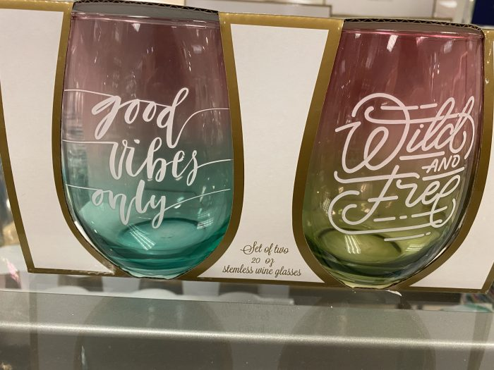 Stemless Wine Glasses on Sale