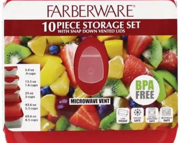 Farberware Food Storage Containers on Sale