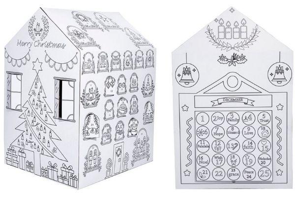 Advent Calendar Playhouse on Sale
