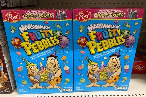 Fruity Pebbles on Sale