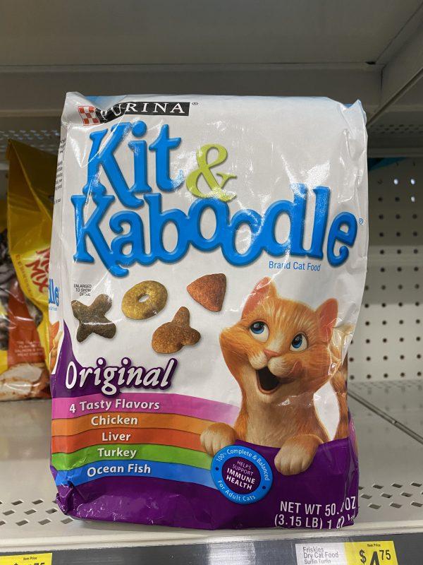 Kit & Kaboodle Cat Food on Sale