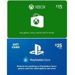 Video Game Gift Cards on Sale Buy 1, Get 1 15% Today Only!