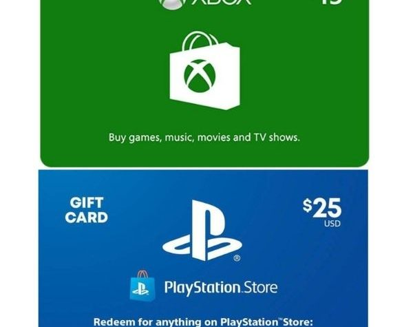 Video Game Gift Cards on Sale